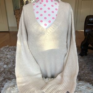 Vs pink sweater large